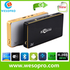 2017 latest Smart Mini projector with quad core processor 1GB RAM 8GB ROM wifi bluetooth DLP HD pocket home theater projector