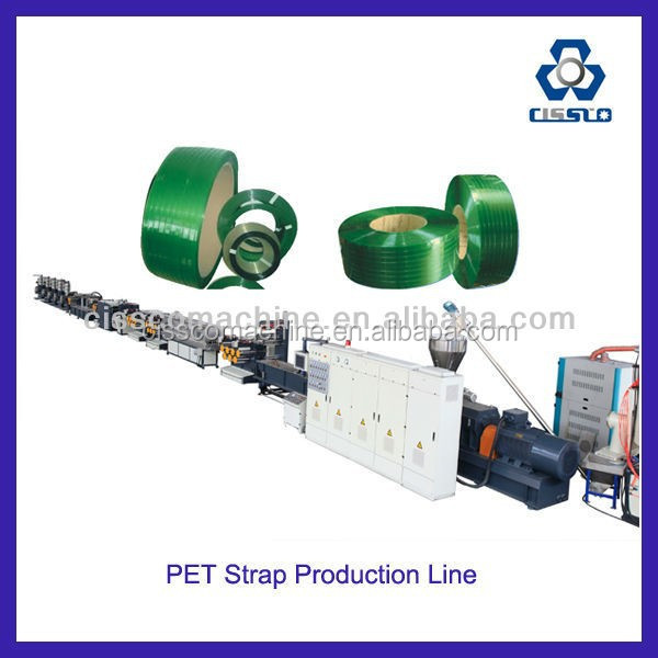 POLYPROPYLENE/POLYESTER STRAPPING BAND EXTRUSION MACHINE