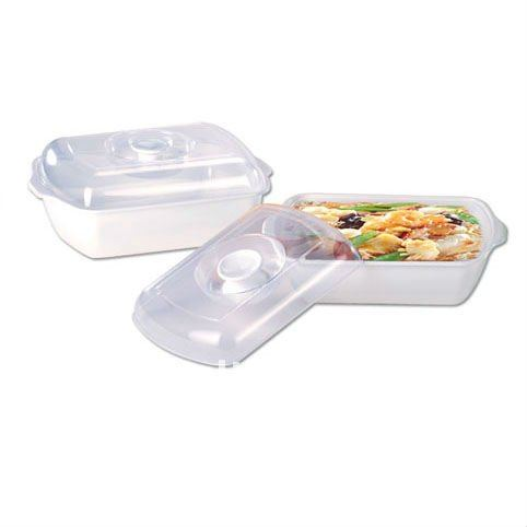 Plastic Microwave Cooking Container Home Use