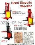 Stacker semi-electric