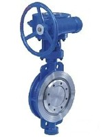 Three eccentric Hydraulic Control Butterfly Valve