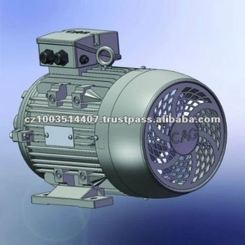 CAG IE 2 Three Phase Aluminium Frame Electric Motor 3kW