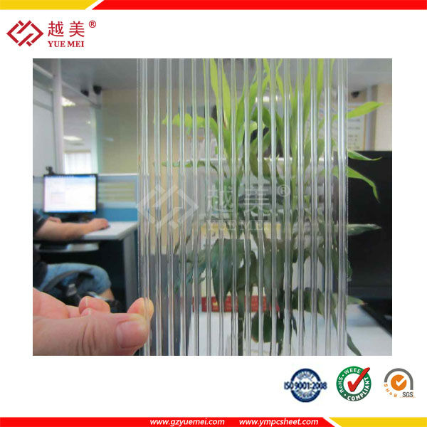 China hollow polycarbonate sheet/polycarbonate sun pack sheet manufacturer