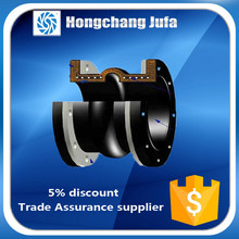 High pressure rubber bellow tube/flexible rubber joint flange/rubber pipe joints