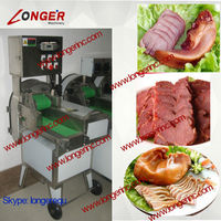 Stainless steel cooked meat cutting machine|cutting machine for cooked meat