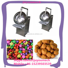 Stainless caramelized candied peanut coated pan nuts coated machine sugar coating machine