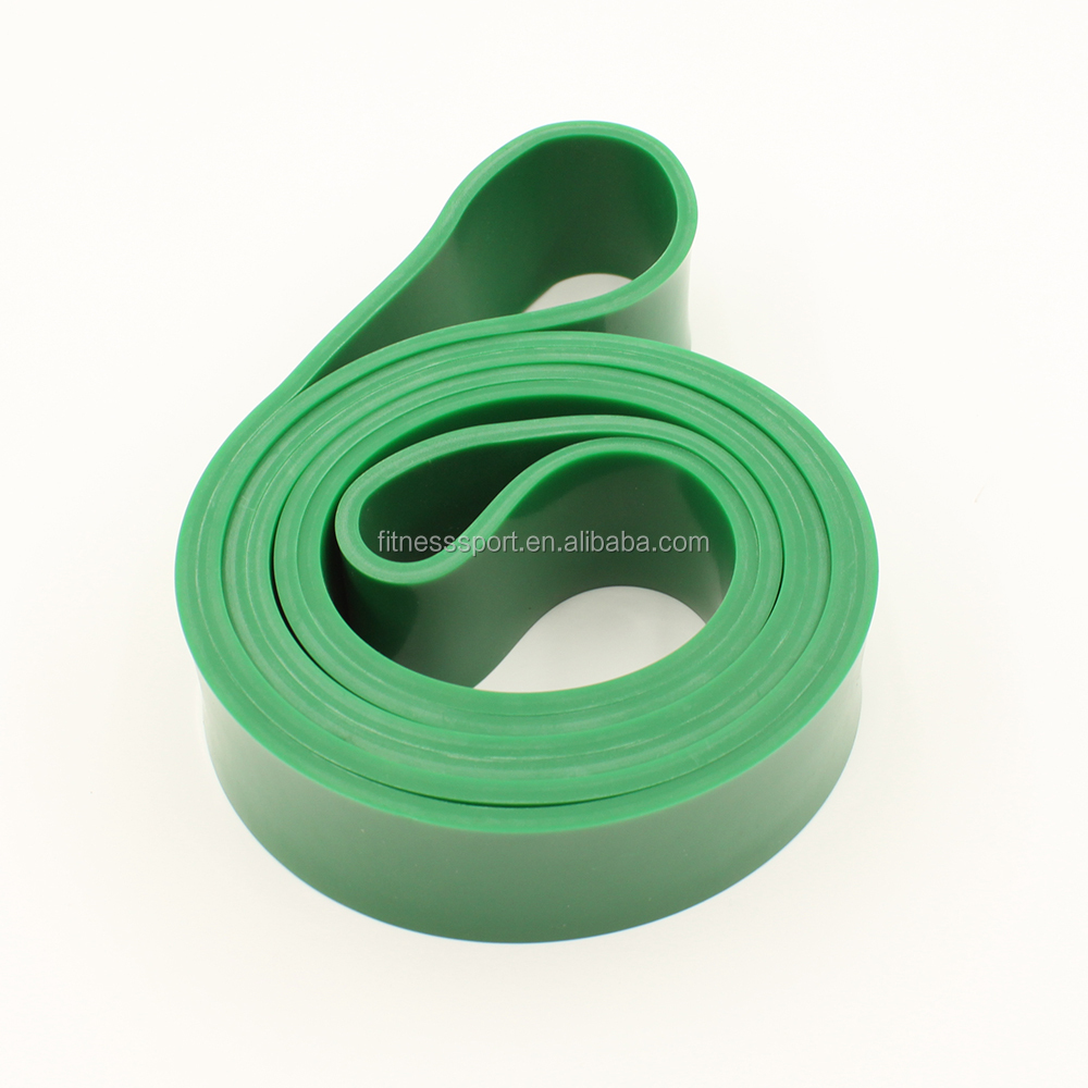 customized color high duty latex resistance loop for fitness exercise