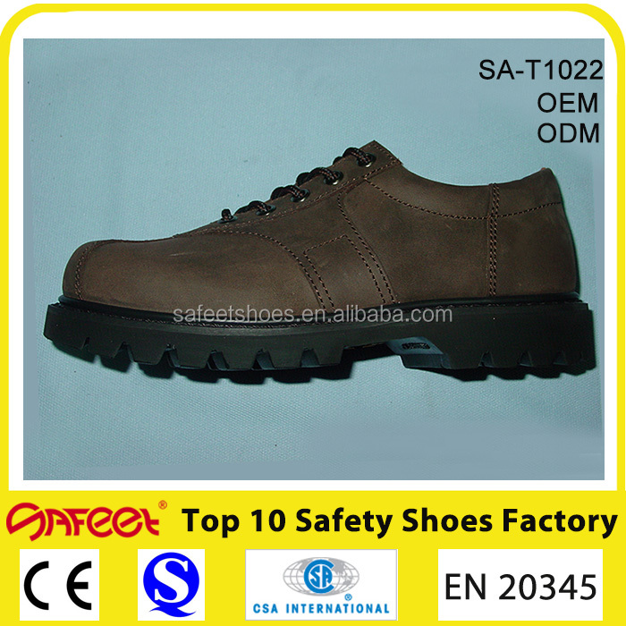 2016 new Guangzhou safety worker shoes and rubber soled boots and safety products (SA-T1022)