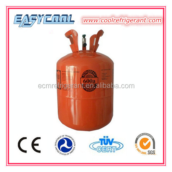 R600A Refrigerant Replacement R12 For Refrigerator Gas Cylinder