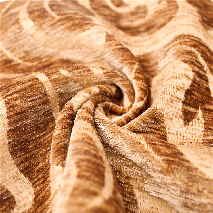 Wholesale 2017 fashion chenille furniture upholstery supplies