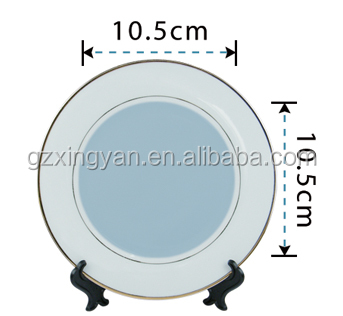 HOT!!!cheap 10 inch white plate, Ceramic plate with some picture ,sublimation plate,