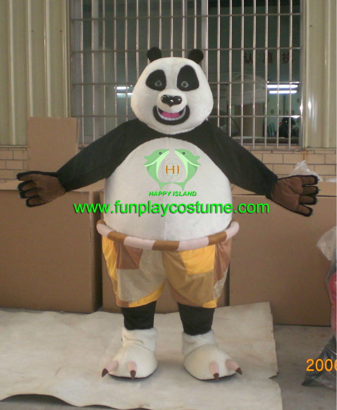 HI hot top sale kungfu panda costume