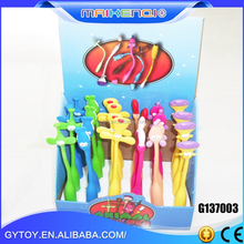 Factory direct sales all kinds of promotional multicolor shaking ballpoint pen