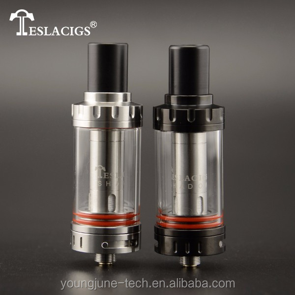 Awesome Vape Tank!! Zero Leaking Tank & Adjustable Airflow Vape Tank with Teslacigs Shadow Tank