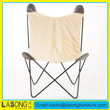 Chinese supplier wholesale metal butterfly chair frame