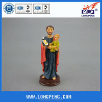 Holy Family Figurines Joseph with Baby Jesus Statues