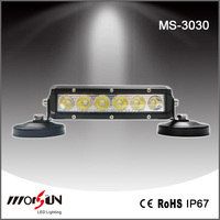 Morsun 30W led light bar, 2700lm off road driving light bar, 6PCS*5W Epistar led work light