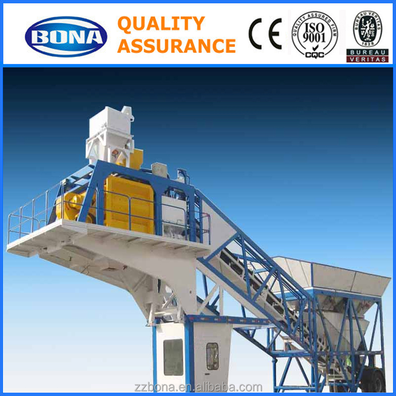 New Ready Mix Container Mibile Concrete Mixing Plant