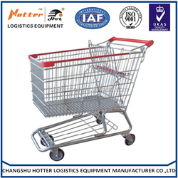 Good market factory price supermarket hand trolley