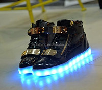 2016 lady fashion luminous LED Shoes