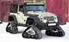 Jeep wrangler rubber track conversion system SUV PICKUP conversion system