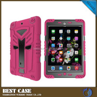 HOT 2 in 1 TPU+PC Hybrid Kickstand armor cover case for ipad air 1, For iPad air 1 2 Case