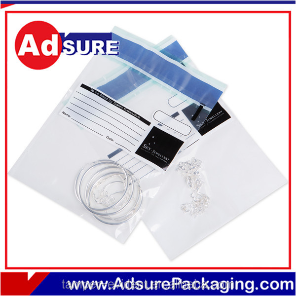 Bank Tamper Evident Security Bag/Bank Security Bag With Tamper Tape/Tamper Evident Security Bag for cash transit