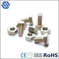 China Supplier Hex head Color zinc plated wholesale nuts and bolts