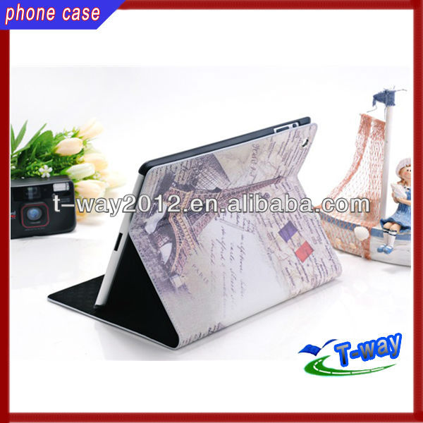 2013 good selling leather case for 9 inch tablet pc