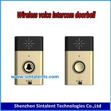 Smart Wireless Doorbell 36 Chords LED Door Bell AC 220-250V Receiver + 2pcs 12V 23A Transmitters 120m Range for Home Office