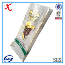 agriculture health food products packing plastic bags 25kg for thailand rice