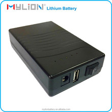 Power supply 18650 2500mah rechargeable 12 volt lithium ion battery