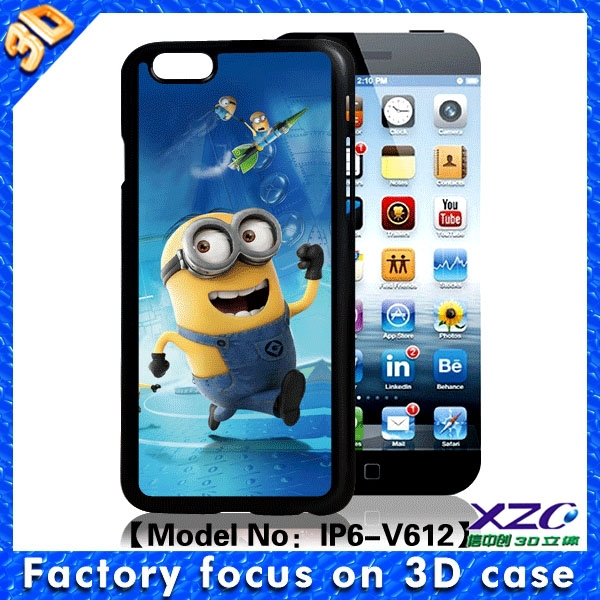 china best selling electronic products 3D minion case for huawei g610