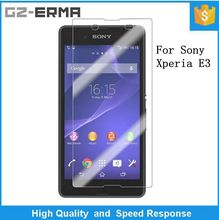 Good Price Touch Screen Protector Film for Mobile Phone, Anti Glare Screen Guard for Sony Xperia E3