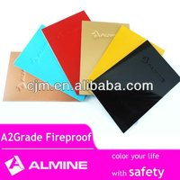 A2 grade fireproof acp construction material fire rated aluminum composite panel