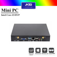 Cheapest Intel Core i5 4200u 12V Fanless i5 Mini PC X86 Wind8 Barebone Desktop Computer Server