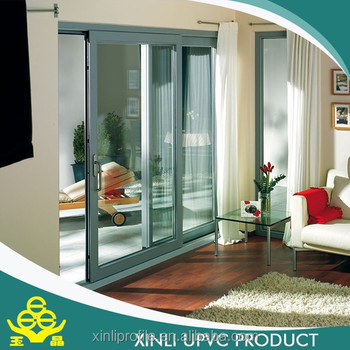 pvc panel upvc raw material for sliding door
