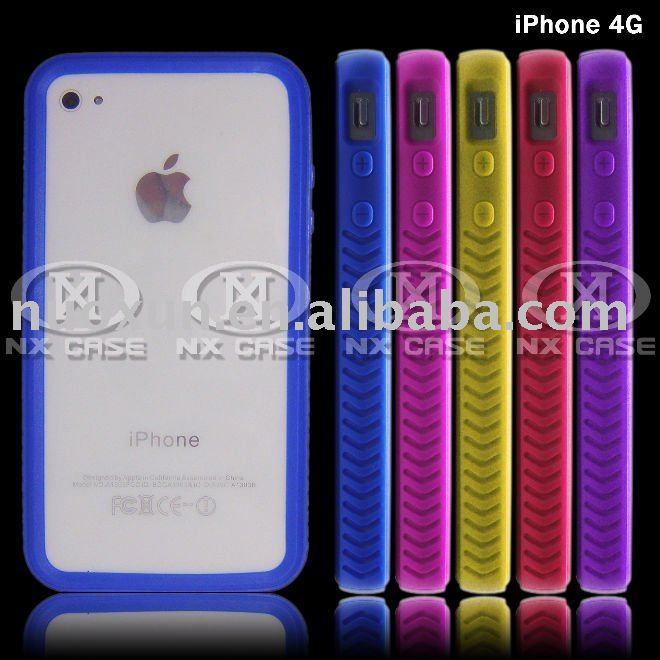 For iPhone 4G bumper case