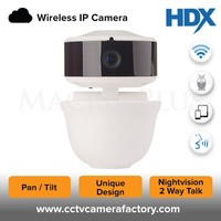 Smallest PTZ Design High Quality 1MP HD New Mini Nightvision Indoor Hidden Wifi Audio Support IP Camera