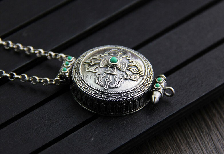 Fashion Hollow circular pendant white gold 925 silver jewelry epoxy pendant for girls