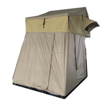 4WD Soft Shell Car Roof Top Tent With Annex