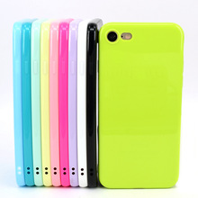 OEM and ODM original soft rubber jelly colorful pure color shockproof phone case cover for iphone 5 5s 5se apple