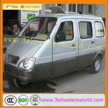 China manufacturer passenger tricycle/cheap diesel engine tricycle for passenger price/300cc closed cabin tricycle
