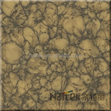 Fashionable elevator interior decoration polished artificial stone sheets