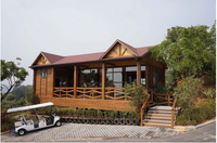 110 outdoor solid bamboo house