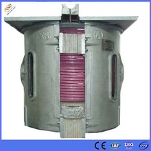 5T induction furnace for melting brass,bronze and copper