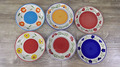 "stock cheap ceramic handpainted 10.5"" dinner plate"