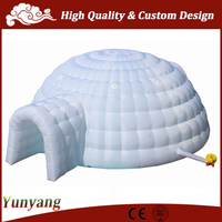 Factory price large inflatable tent, used tent inflatable