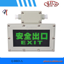 Explosion proof emergency sign lamp/EX exit