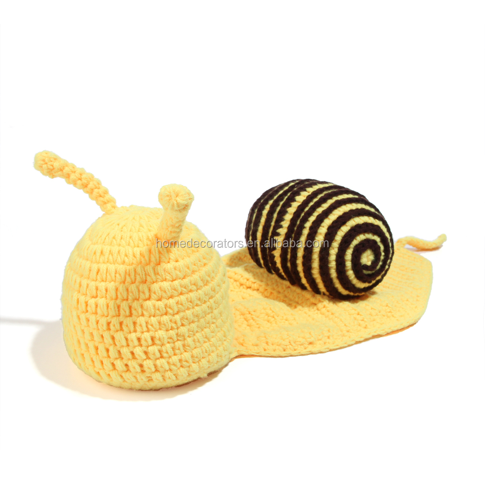 2014 newborn crochet hat animal style snail hat